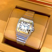 Cartier Santos Galbée Gold/Steel 33mm Silver Roman numerals United States of America, New York, New York