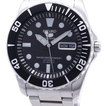 Seiko 5 Sports SNZF17J1 New Steel Automatic