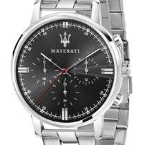 Maserati Steel 42mm Quartz R8873630001 new