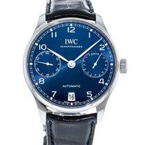 IWC Portuguese Automatic Steel 42mm Blue