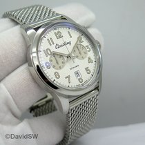 Breitling Transocean Chronograph 1915 Steel 43mm Silver Arabic numerals United States of America, Florida, Orlando