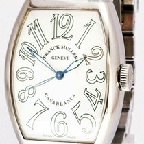 Franck Muller Steel Automatic White Arabic numerals 45mm pre-owned Casablanca