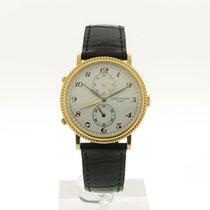 Patek Philippe Travel Time Gelbgold 34mm Weiß Arabisch
