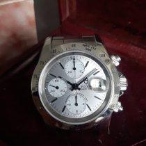 Tudor Stahl Automatik Silber Keine Ziffern 40mm gebraucht Prince Date
