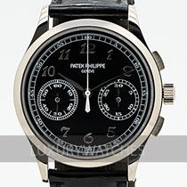 Patek Philippe Chronograph White gold 39.4mm Black
