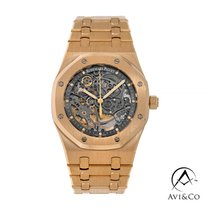 Audemars Piguet Royal Oak Selfwinding Pозовое золото 39mm Cерый Без цифр