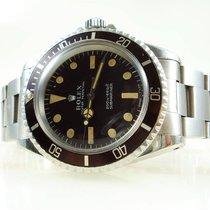 """Rolex Submariner 5513 Tritium """"meters first"""" 1968"""