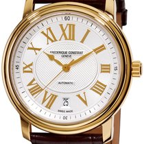 Frederique Constant Classics Automatic Gold/Steel 42.7mm Silver United States of America, New York, Brooklyn