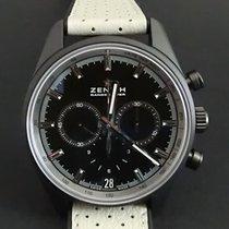 Zenith El Primero Chronomaster nuevo Automático Cronógrafo Reloj con estuche y documentos originales 24.2040.400/27.R797