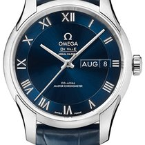 Omega De Ville Hour Vision Steel 41mm Blue United States of America, New York, Airmont