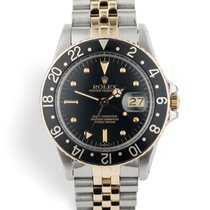 Rolex 16753 GMT-Master - Gold & Steel Nipple Dial