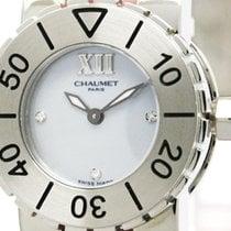 Chaumet Class One Diamond Mop Dial Quartz Ladies Watch 621...