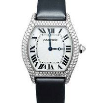 Cartier Tortue occasion 42mm Or blanc