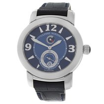 Ulysse Nardin pre-owned Automatic 40mm Blue Sapphire Glass
