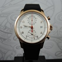IWC Portuguese Yacht Club Chronograph 43.5mm Srebrny Arabskie