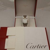 Cartier Tank Française Acciaio 28mm Bianco Romano Italia, Parma