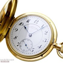 A. Lange & Söhne Watch pre-owned 1894 Yellow gold 50mm Arabic numerals Manual winding Watch with original box