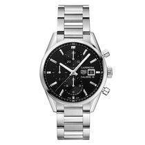 TAG Heuer CBK2110.BA0715 Steel Carrera Calibre 16 41mm new