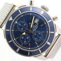 Breitling Superocean Héritage Chronograph Сталь 46mm Синий