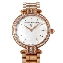 Harry Winston Rose gold Quartz Mother of pearl 31mm new Premier