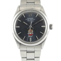 Rolex Air King Stahl 34mm Grau