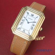 Cartier Κίτρινο χρυσό Χειροκίνητη εκκαθάριση μεταχειρισμένο