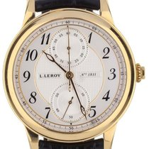L.Leroy Yellow gold 41mm Automatic 1811 pre-owned