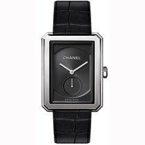 Chanel Boy-Friend Steel 28mm Black United States of America, California, Newport Beach
