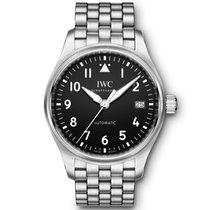 IWC Pilot's Watch Automatic 36 Otel 36mm Negru Arabic
