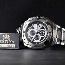 Festina Steel 48mm Quartz F16351/1 new