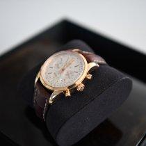 Breitling Transocean Chronograph Roségold 43mm Schweiz, Le Locle