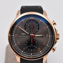 IWC Portuguese Yacht Club Chronograph Rose gold 45mm Grey Arabic numerals United States of America, Texas, Houston