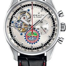 Zenith El Primero Chronomaster new Automatic Chronograph Watch with original box and original papers 03.20410.4061/07.C772