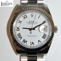 Rolex Datejust II Acero 41mm Blanco Romanos España, Madrid