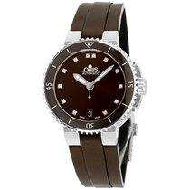 Oris Aquis Date Steel 36mm Brown United States of America, New Jersey, Somerset
