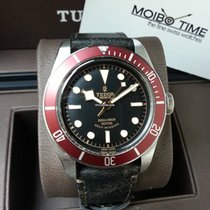 帝陀 (Tudor) Heritage Black Bay Leather Strap Version Red [NEW]