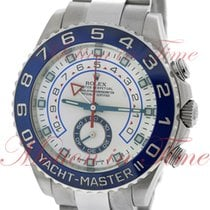 Rolex Yacht-Master II Steel 44mm White No numerals United States of America, New York, New York
