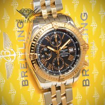 Breitling Chronomat Evolution Chronograph 18k Rose Gold/Steel...