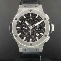 Hublot Big Bang Aero Bang Skeleton 44mm S / Steel Ref 311.SX.1...