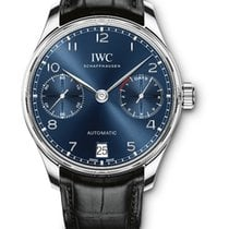 IWC Portuguese Automatic Acier Bleu France, Paris