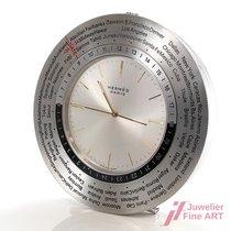 Hermès gebraucht Quarz 76mm Silber Plexiglas