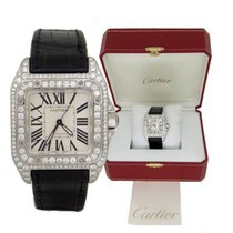 Cartier Mens Cartier Stainless Steel Santos 100 Automatic...