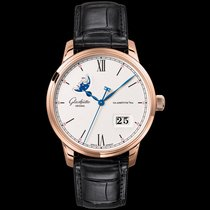Glashütte Original Senator Excellence Red gold 40mm Silver United Kingdom, Newry