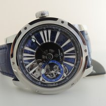 Louis Moinet Metropolis Steel 43,2mm Blue