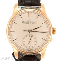 Moritz Grossmann Or rose 41mm Remontage manuel MG-00463 nouveau