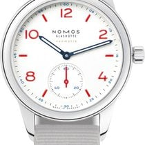 NOMOS Club Neomatik Steel 37mm White United States of America, New York, Airmont