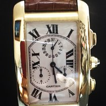 Cartier Tank Américaine Chronoflex Gold