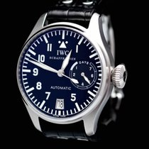 IWC UNPOLISHED EXTREEMLY RARE BIG PILOT FISH CROWN FULL SET 2003