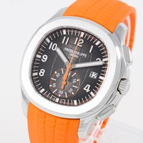 Patek Philippe 5968A-001 Aço Aquanaut 42.2mm