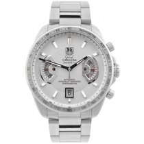 TAG Heuer Grand Carrera pre-owned 43mm Steel